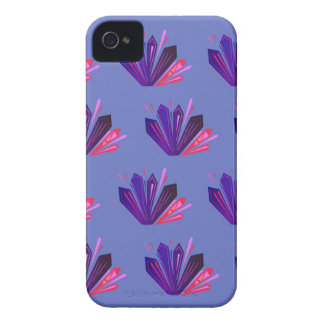Design gems on blue edition Case-Mate iPhone 4 case