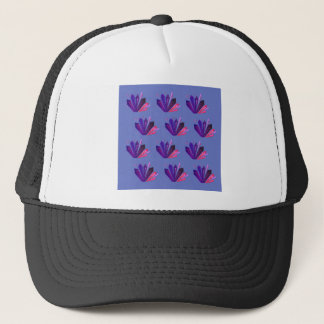Design gems on blue edition trucker hat
