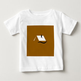 Design home gold white baby T-Shirt