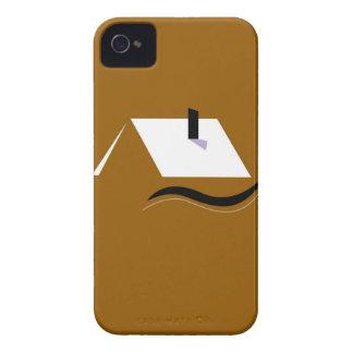 Design home gold white iPhone 4 case