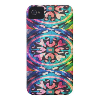 Design in colorful background iPhone 4 case