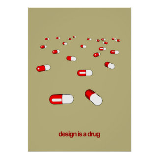 design is a drug poster
