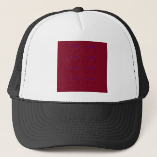 Design lace Ethno  Red Trucker Hat