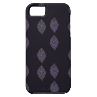 Design leaves on Black iPhone 5 Cover