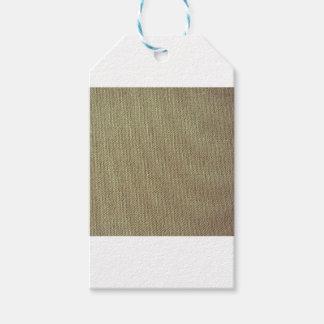 Design linen ethno gift tags
