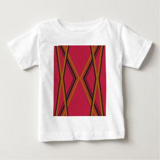 Design lines ethno chocolate baby T-Shirt