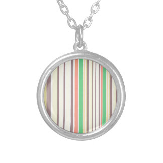 Design lines sweet Bamboo Silver Plated Necklace