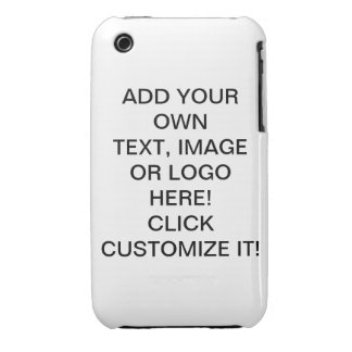 Design Make Your Own Image Text Logo iPhone 3G/3GS iPhone 3 Case-Mate Cases