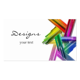 design_makeup_business pack of standard business cards