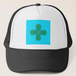 Design Mandala blue bio Trucker Hat