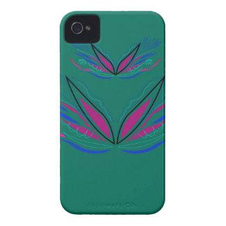 Design mandala Ethno Green iPhone 4 Cases