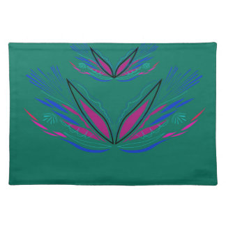 Design mandala Ethno Green Placemat