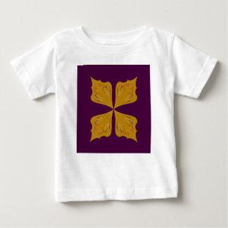 Design mandala gold wine ethno baby T-Shirt