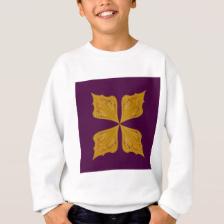 Design mandala gold wine ethno sweatshirt