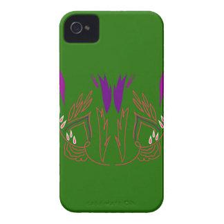 Design mandala Green Eco iPhone 4 Case-Mate Case