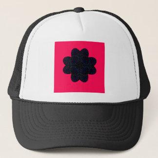 Design mandala on  Red Trucker Hat