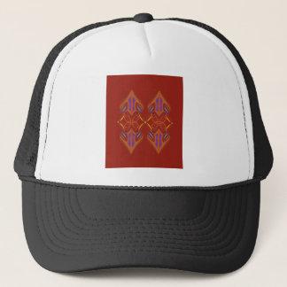 Design mandalas eco brown trucker hat