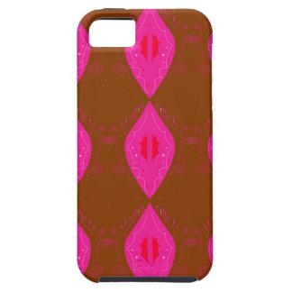 Design mandalas pink choco tough iPhone 5 case
