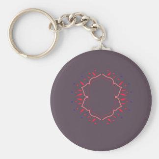 Design monogram classic key ring