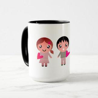 Design mug with Emo kids