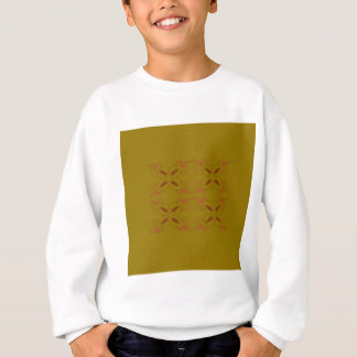 Design ornaments olive dark sweatshirt