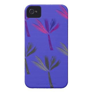 Design palms exotic blue iPhone 4 case