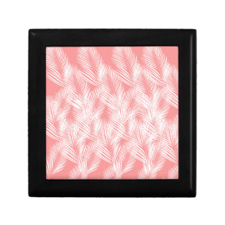 Design palms pink white exotico gift box