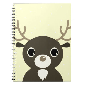 Design paper block with Reindeer Notebook