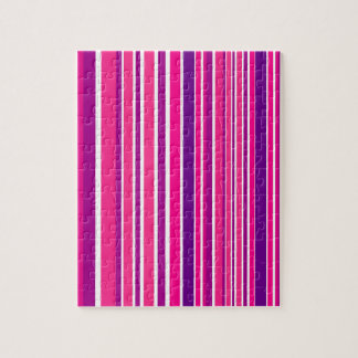 Design pink Bamboo elements Jigsaw Puzzle