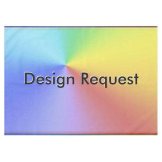 Design Request Tablecloth