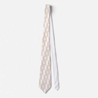 Design rose brown eco tie