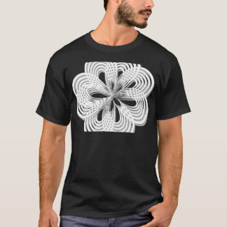 design rosette circle design round mark T-Shirt