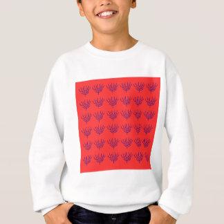 Design seeweeds delicious blue elements sweatshirt