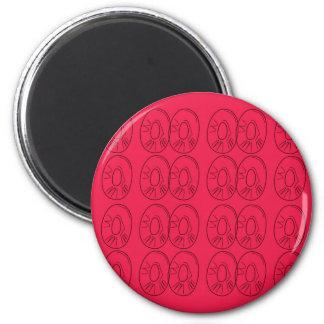Design  slices bio lemons red magnet