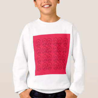 Design  slices bio lemons red sweatshirt