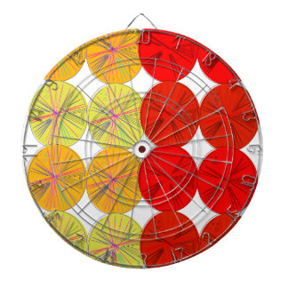 Design slices wild exotic dartboard