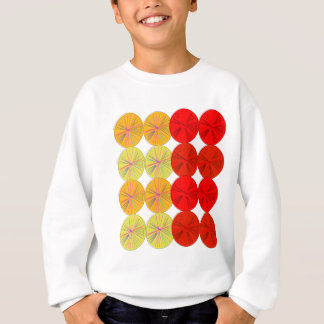 Design slices wild exotic sweatshirt