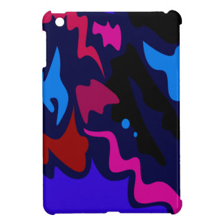 Design splash ethno dots blue case for the iPad mini