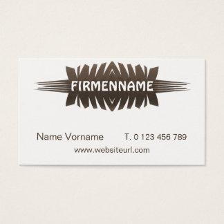 Design technology business card