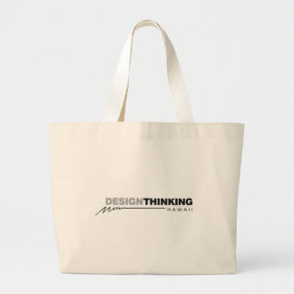 Design Thinking Hawaii Lightening Large Tote Bag