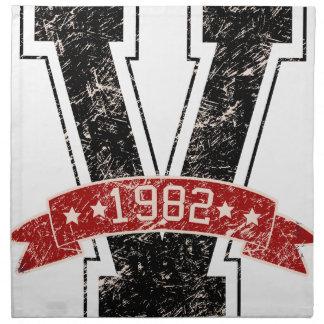 design vintage napkin