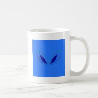 Design wings blue ethno coffee mug