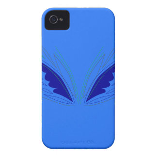 Design wings blue ethno iPhone 4 case