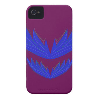 Design wings / blue iPhone 4 case