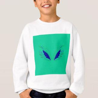 Design wings eco Green Sweatshirt