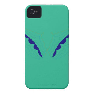 Design wings green eco iPhone 4 case
