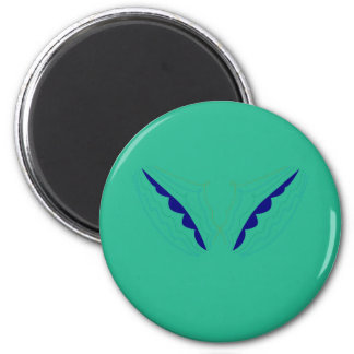 Design wings green eco magnet