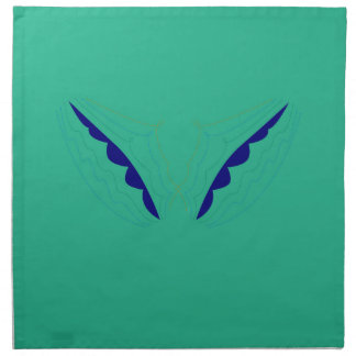 Design wings green eco napkin