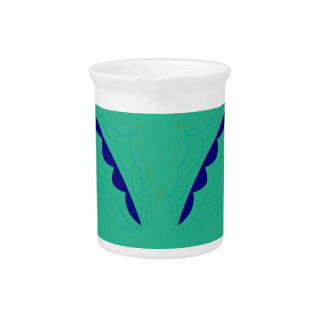 Design wings green eco pitcher