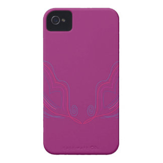 Design wings pink iPhone 4 Case-Mate case